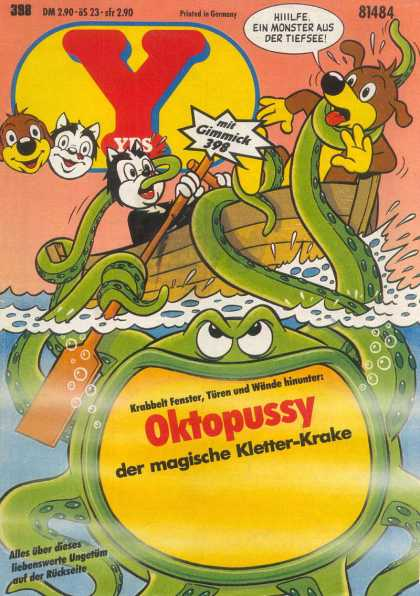 Yps - Oktopussy der magische Kletter-Krake - Oktopussy - Sea Monster Comics - Y Comic Books - Magic Sea Monster - Moster Comics