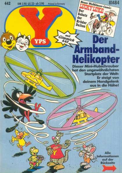 Yps - Der Armband-Helikopter - Germany - Lucky Luke - Gimmick - Helicopters - Bird