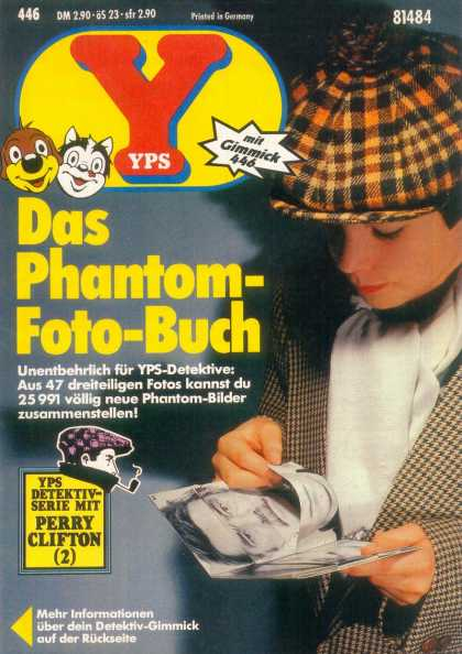 Yps - Das Phantom-Foto-Buch - Detective Kit - Sherlock Holmes - Toy - Book - Mystery Pictures