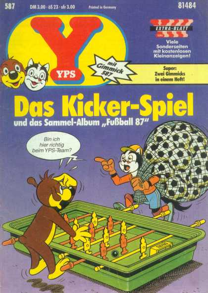 Yps - Das Kicker-Spiel - Bag - Ball - Game - Hat - Shoes