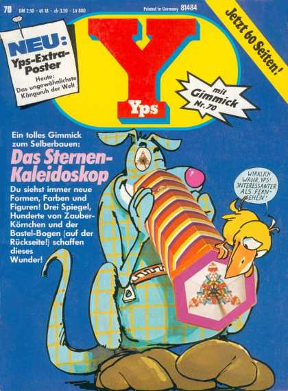 Yps - Das Sternen-Kaleidoskop - Curious - Confused - Whats A Kaliadoscope - Adventure - Dog And Bird Let The Fun Begin