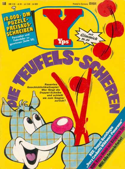 Yps - Die Teufels-Scheren - Kid Krazy - Up In The Air - Funny Games - Sticks And Yoyos - Yelp Yelp Yelp