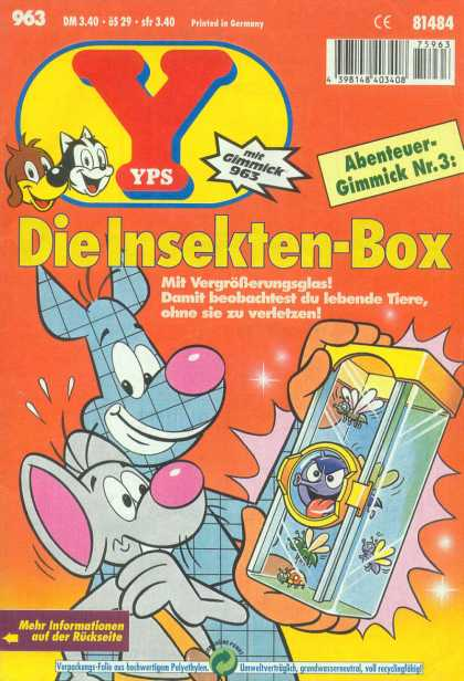 Yps - Die Insekten-Box - Fly - Insect - Ladybug - Box - Mouse