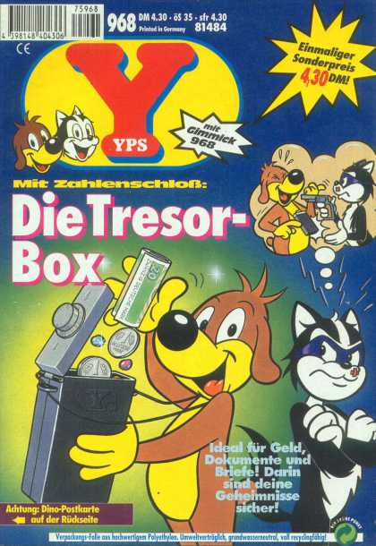 Yps - Die Tresor-Box - The Toy Gun - Youre Going To Shoot Me - The Angry Kitty - The Angry Cat - The Happy Pup