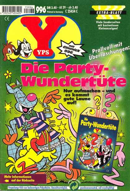 Yps - Die Party-Wundertüte - German - Dog - Box - Quesion - Issue 996