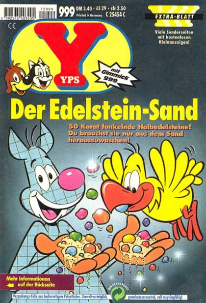 Yps - Der Edelstein-Sand - Jewelry - Front Page - Article - Read - Quacks