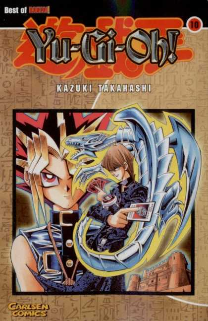 Yu-Gi-Oh 9 - Cards - Long Hair - Dragon - Castle - Best Of