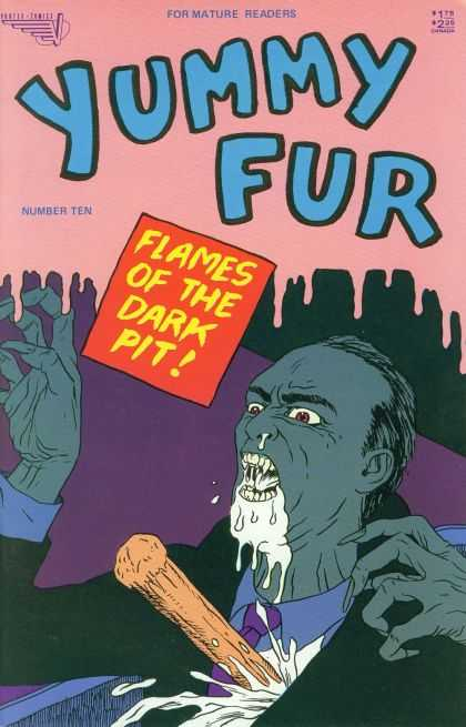 Yummy Fur 10 - Vampire - Stake - Flames Of The Dark Pit - Suit - Mature Readers