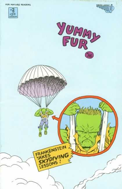 Yummy Fur 16 - Mature Readers - Yummy Fur - Parachute - Skydiving Lessons - Frnkenstein