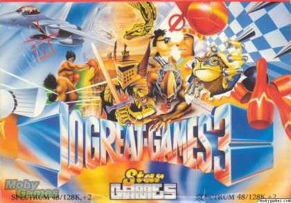 ZX Spectrum Games - 10 Great Games 3