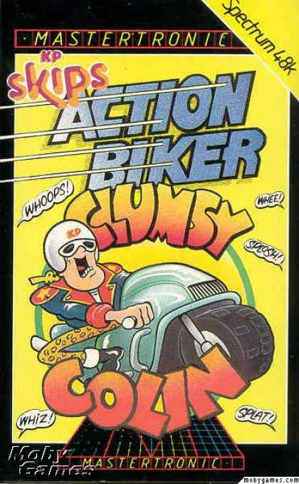 ZX Spectrum Games - Action Biker
