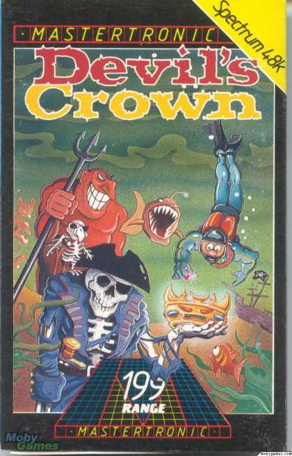 ZX Spectrum Games - Devil's Crown