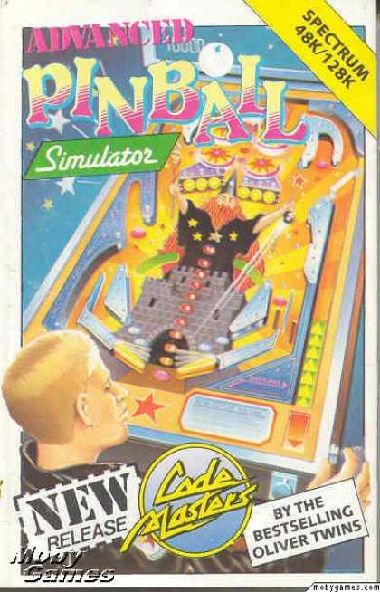 ZX Spectrum Games - Advanced Pinball Simulator