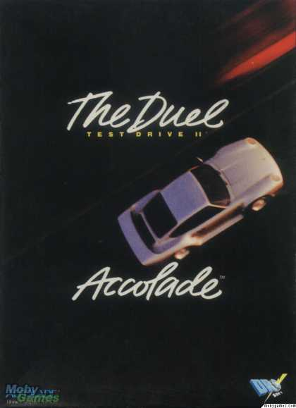 ZX Spectrum Games - The Duel: Test Drive II