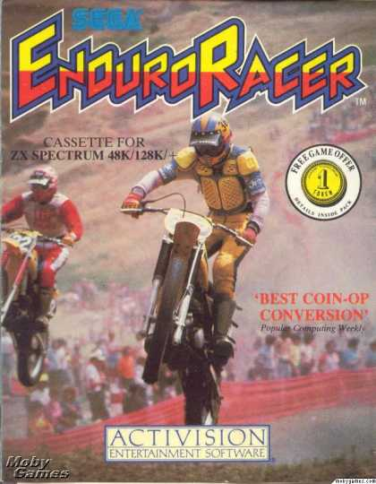 ZX Spectrum Games - Enduro Racer