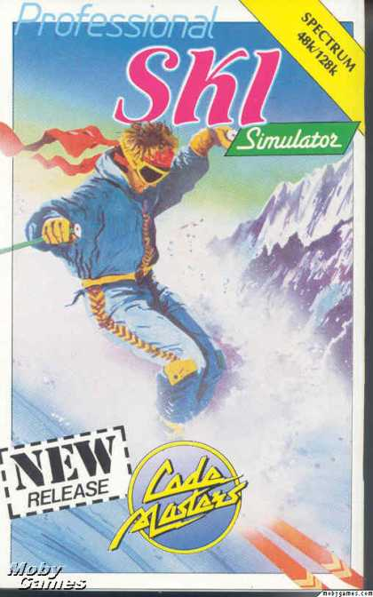 ZX Spectrum Games - Advanced Ski Simulator