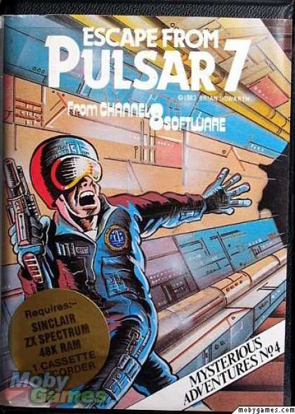 ZX Spectrum Games - Escape from Pulsar 7