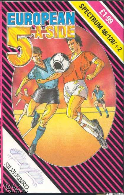 ZX Spectrum Games - European 5-A-Side