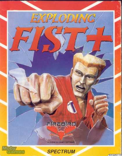 ZX Spectrum Games - Exploding Fist +