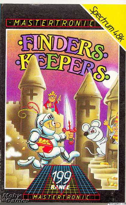 ZX Spectrum Games - Finders Keepers