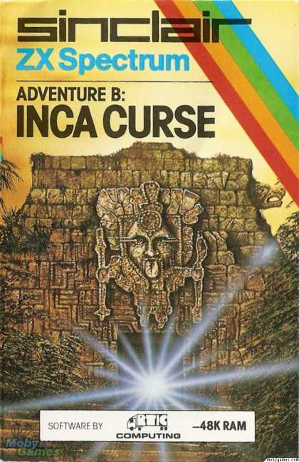 ZX Spectrum Games - Adventure B: Inca Curse