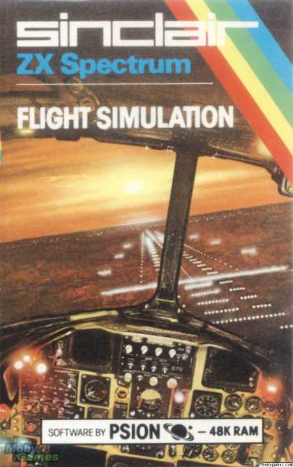 ZX Spectrum Games - Flight Simulation