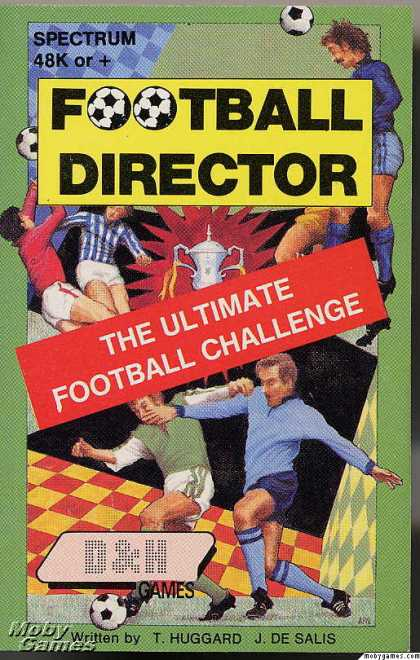ZX Spectrum Games - Football Director