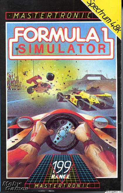 ZX Spectrum Games - Formula 1 Simulator