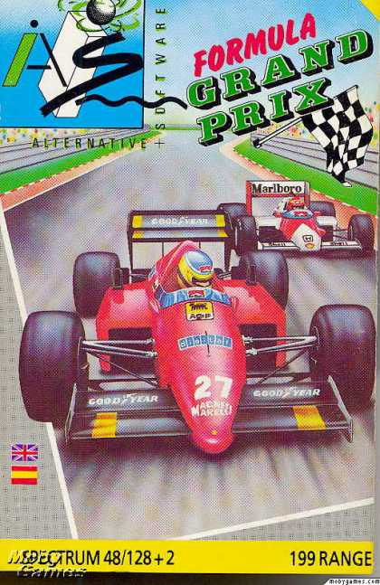 ZX Spectrum Games - Formula One