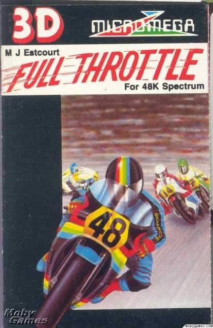 ZX Spectrum Games - Full Throttle