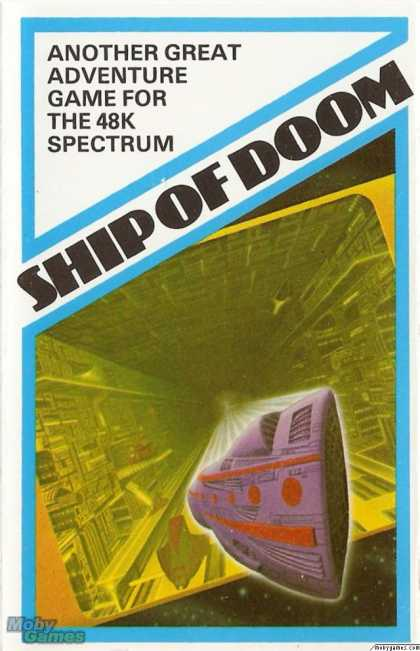 ZX Spectrum Games - Adventure C: Ship Of Doom
