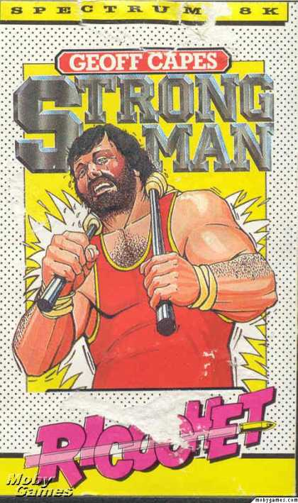 ZX Spectrum Games - Geoff Capes Strongman