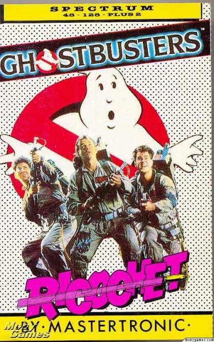 ZX Spectrum Games - Ghostbusters