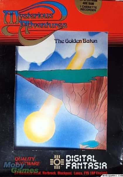 ZX Spectrum Games - The Golden Baton
