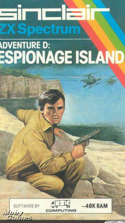 ZX Spectrum Games - Adventure D: Espionage Island