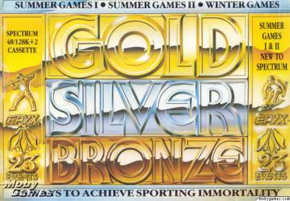 ZX Spectrum Games - Gold, Silver, Bronze