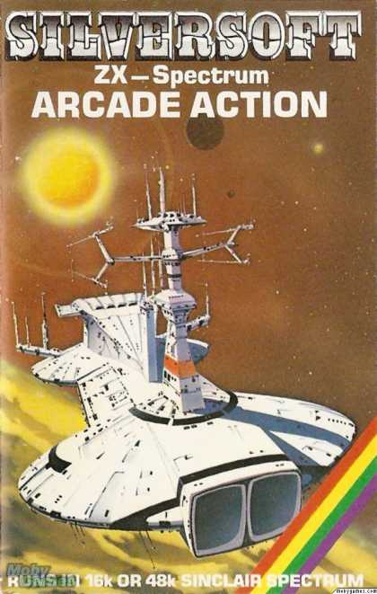 ZX Spectrum Games - Ground Attack