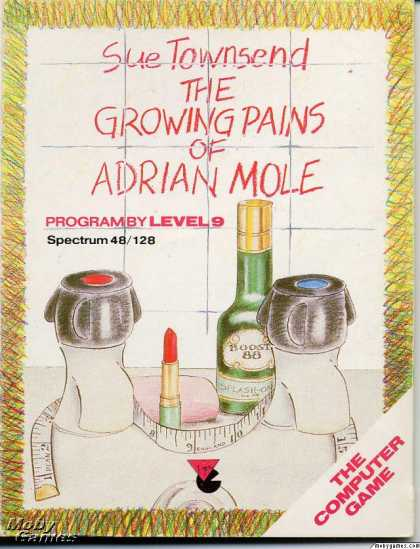 ZX Spectrum Games - The Growing Pains of Adrian Mole