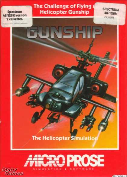 ZX Spectrum Games - Gunship