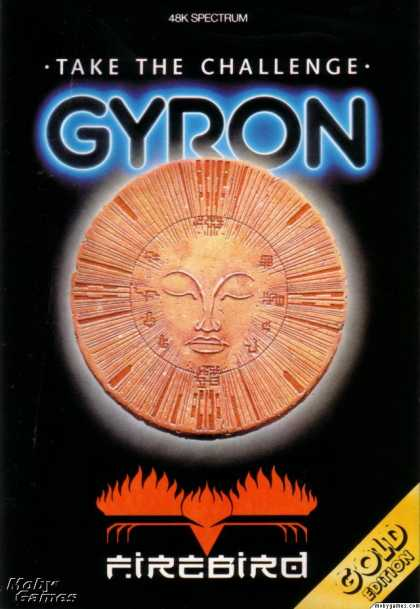 ZX Spectrum Games - Gyron