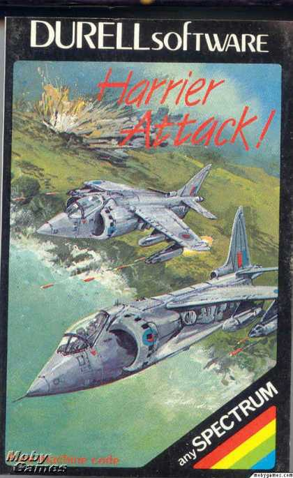 ZX Spectrum Games - Harrier Attack