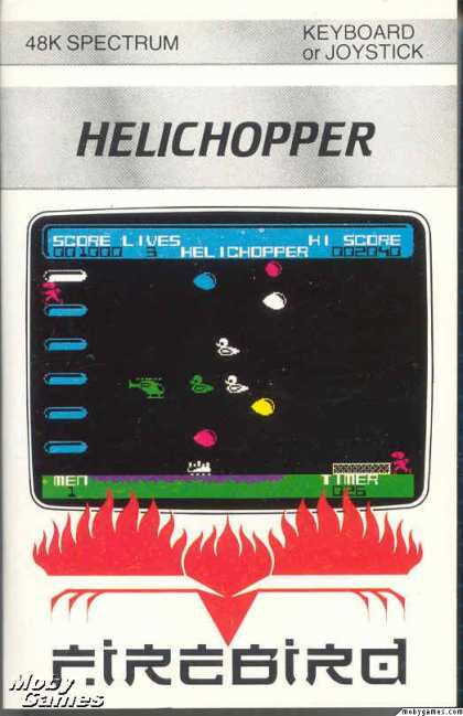 ZX Spectrum Games - Helichopper