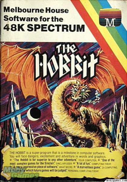 ZX Spectrum Games - The Hobbit