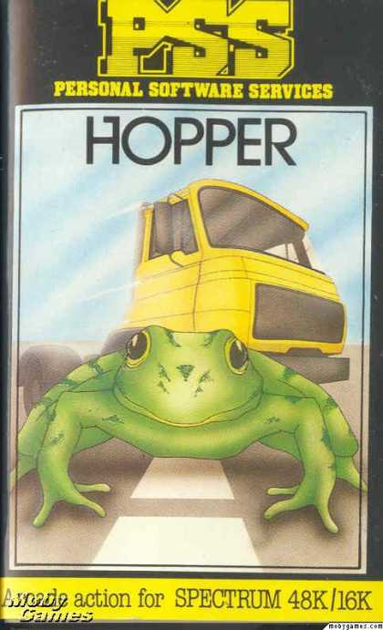 ZX Spectrum Games - Hopper