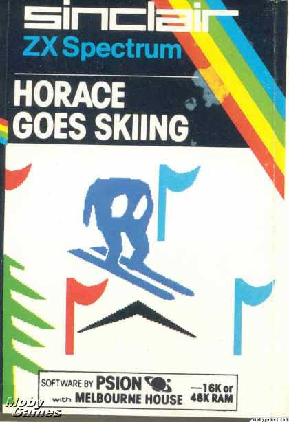 ZX Spectrum Games - Horace Goes Skiing