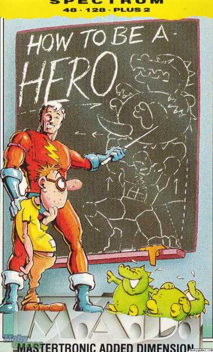 ZX Spectrum Games - How to be a Hero