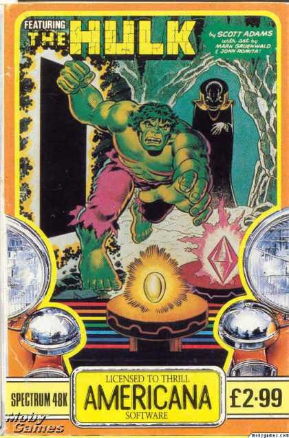 ZX Spectrum Games - The Hulk