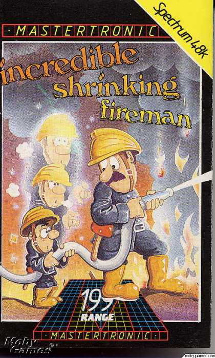 ZX Spectrum Games - Incredible Shrinking Fireman