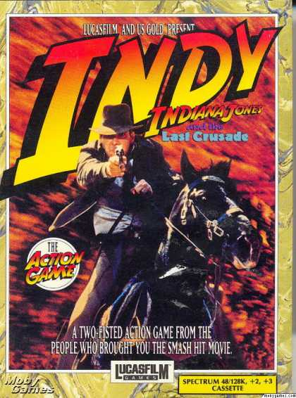 ZX Spectrum Games - Indiana Jones and the Last Crusade: The Action Game