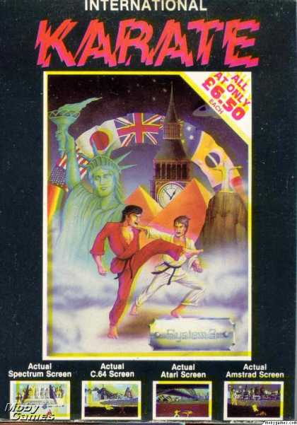 ZX Spectrum Games - International Karate